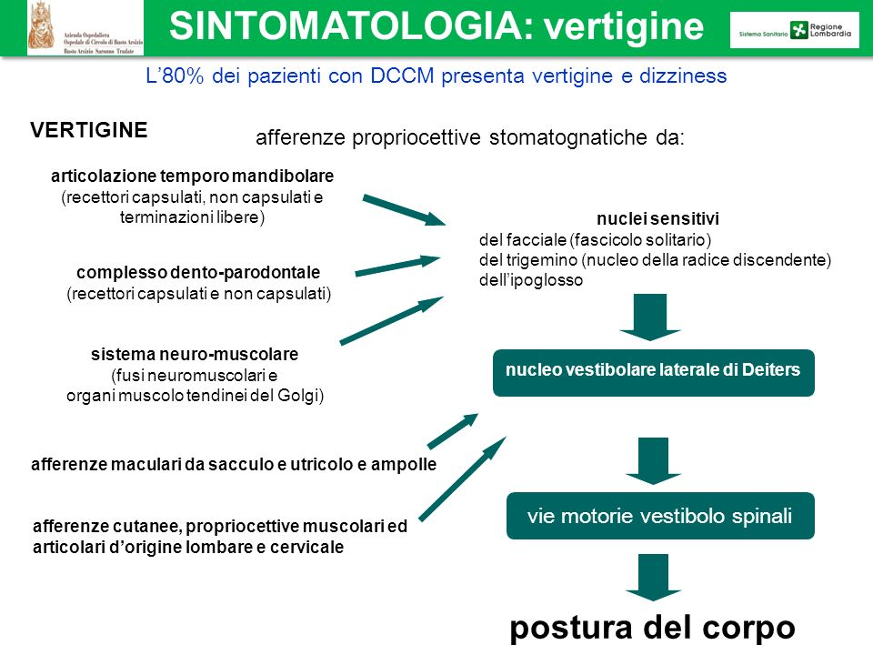 SINTOMATOLOGIA: vertigine