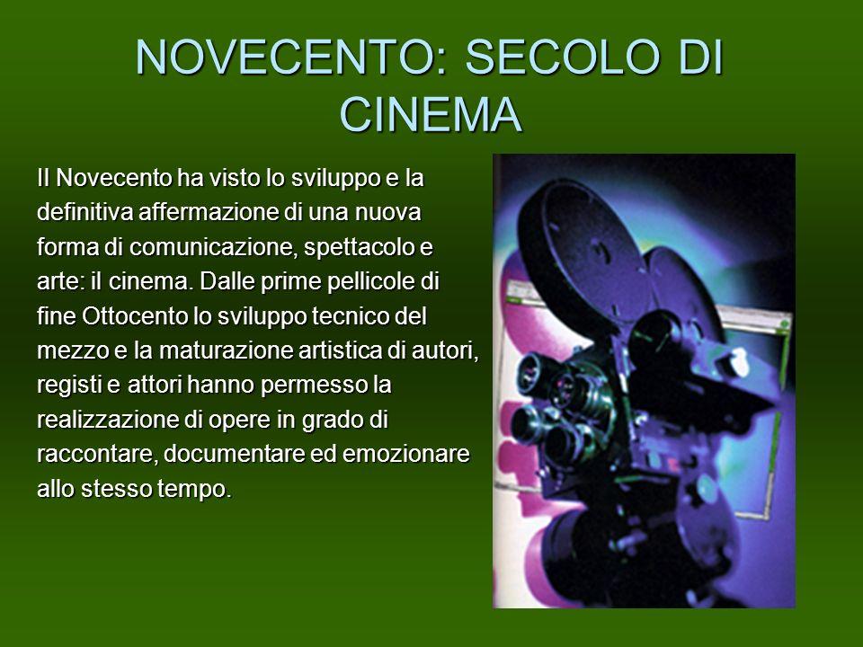 NOVECENTO: SECOLO DI CINEMA