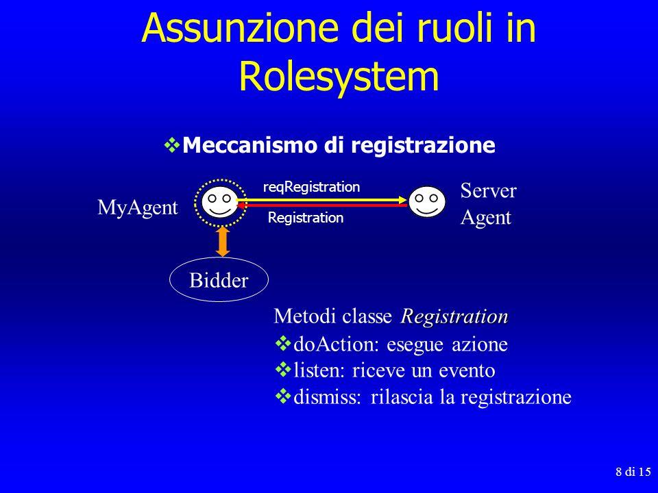 Assunzione dei ruoli in Rolesystem
