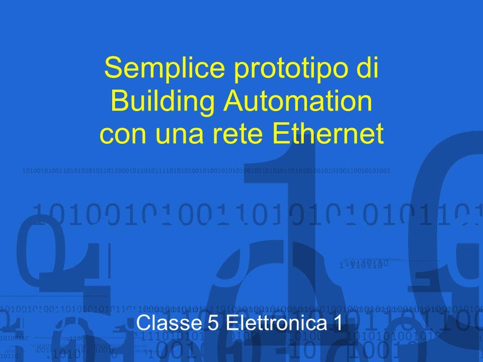 Semplice prototipo di Building Automation con una rete Ethernet
