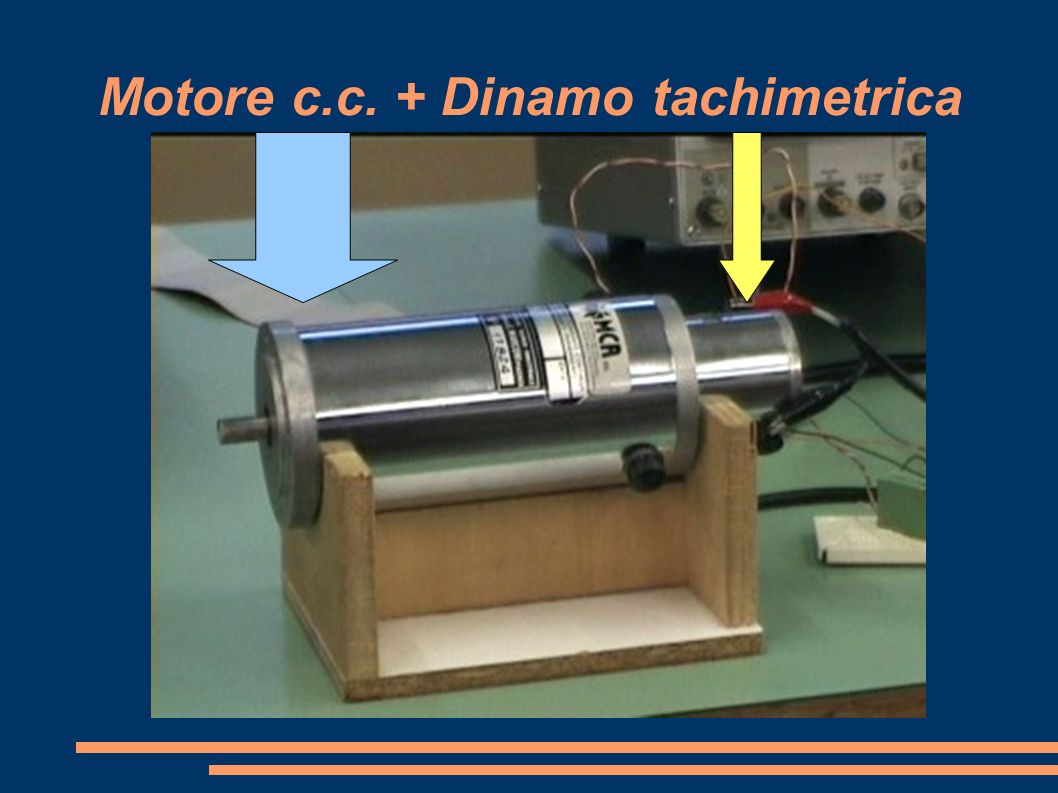 Motore c.c. + Dinamo tachimetrica