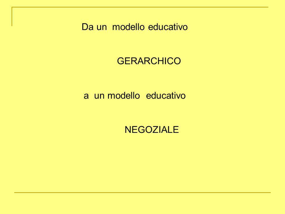 Da un modello educativo