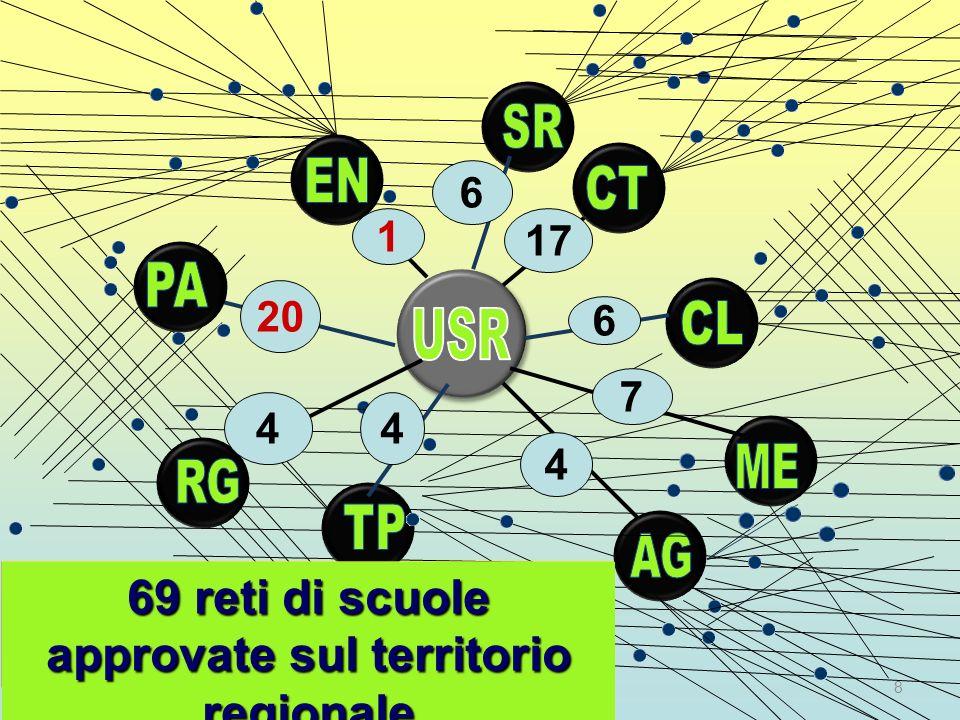 69 reti di scuole approvate sul territorio regionale