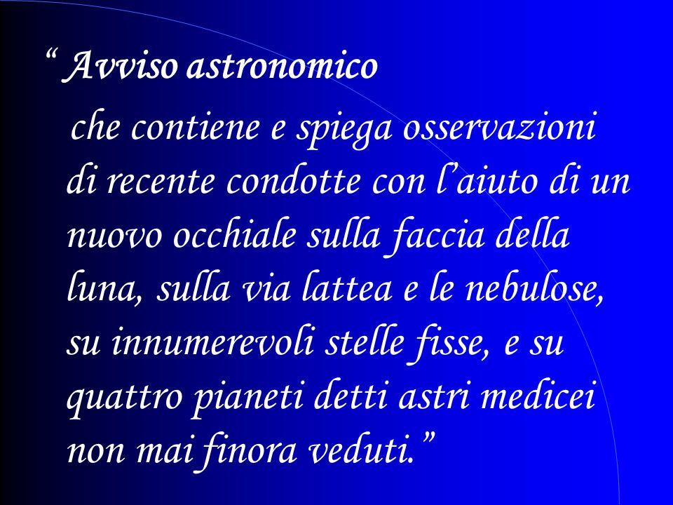 Avviso astronomico