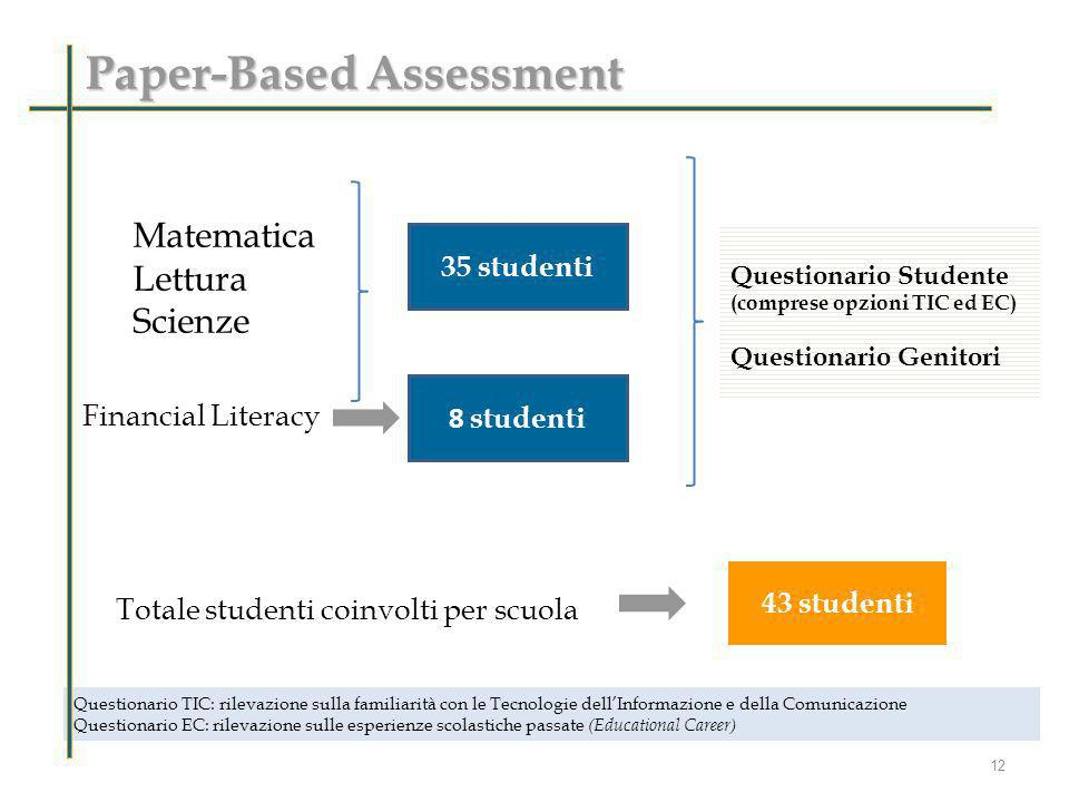 Paper-Based Assessment