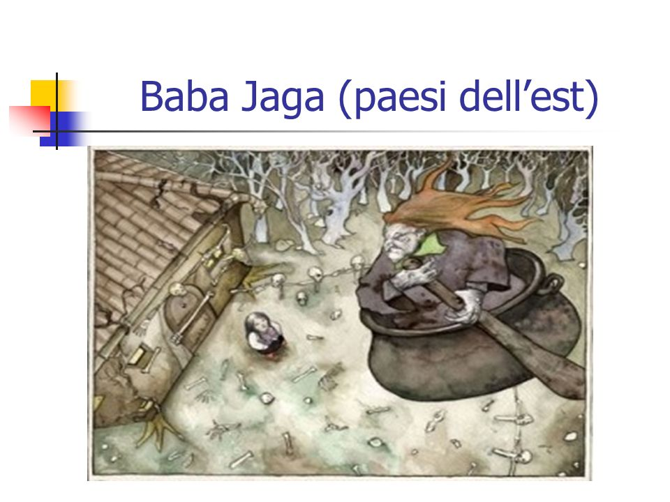Baba Jaga (paesi dell'est)