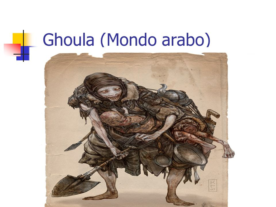 Ghoula (Mondo arabo)
