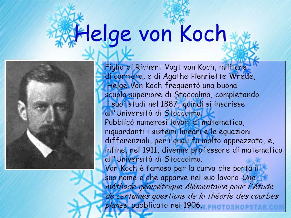 Helge von Koch Figlio di Richert Vogt von Koch, militare