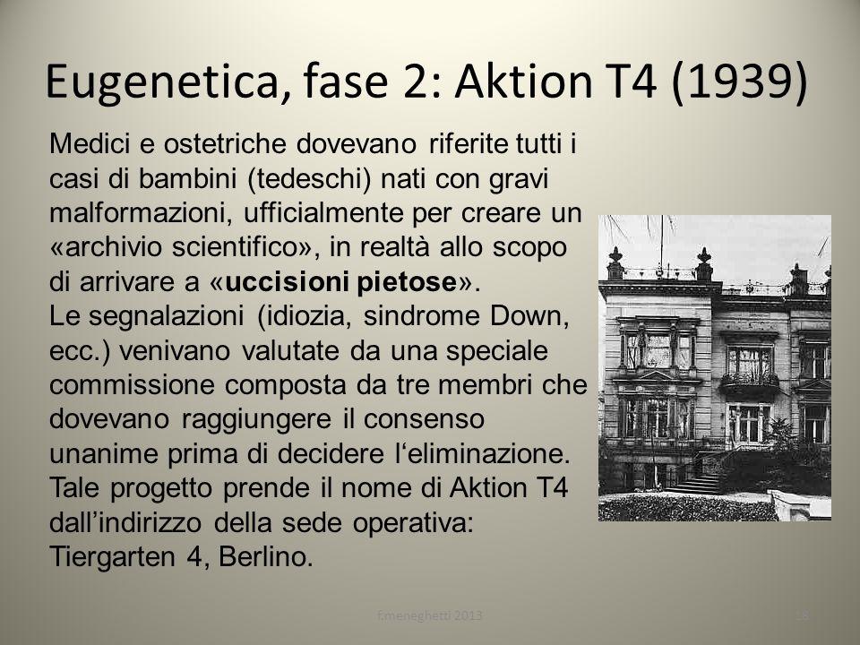 Eugenetica, fase 2: Aktion T4 (1939)