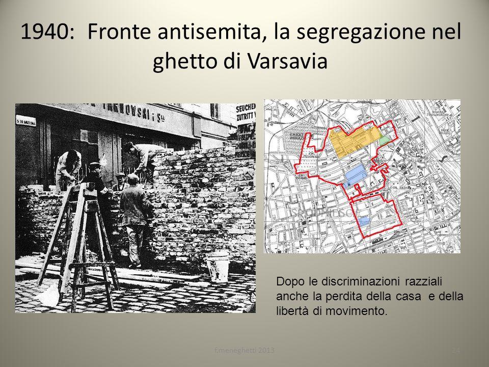 1940: Fronte antisemita, la segregazione nel ghetto di Varsavia