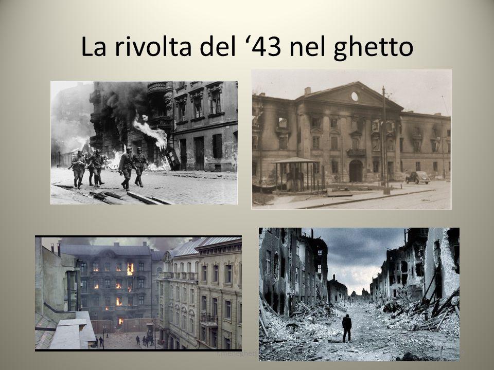 La rivolta del '43 nel ghetto