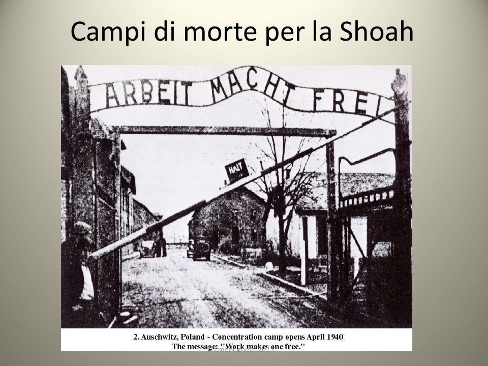 Campi di morte per la Shoah