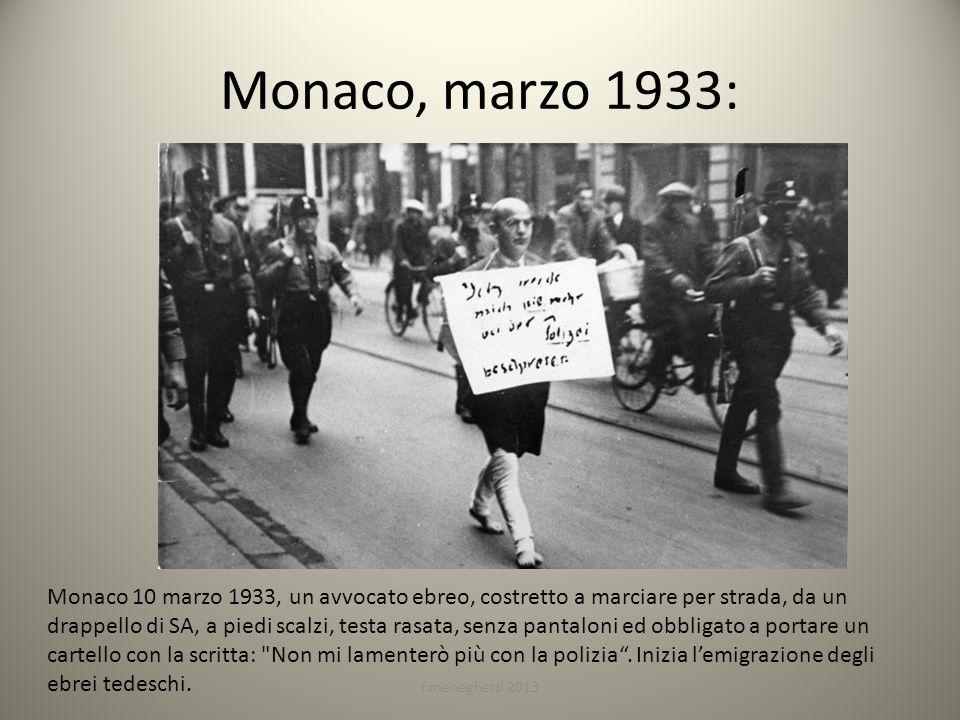 Monaco, marzo 1933:
