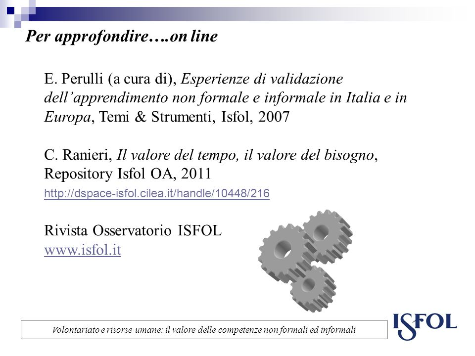 Per approfondire….on line