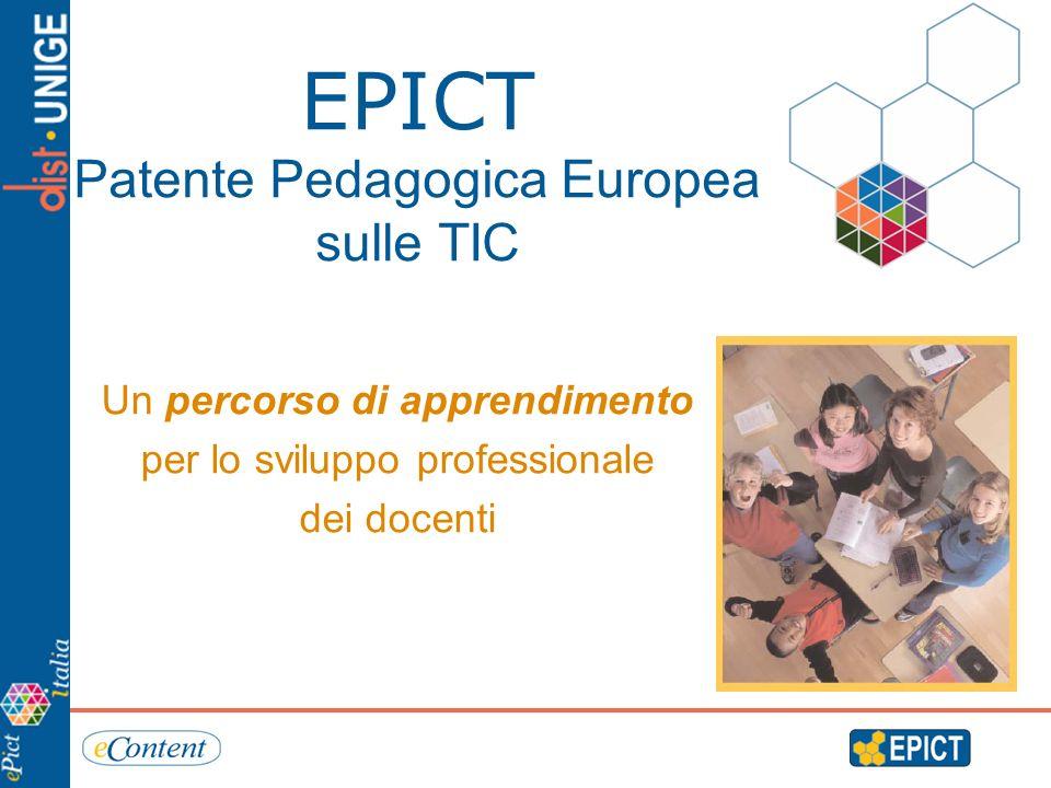 EPICT Patente Pedagogica Europea sulle TIC