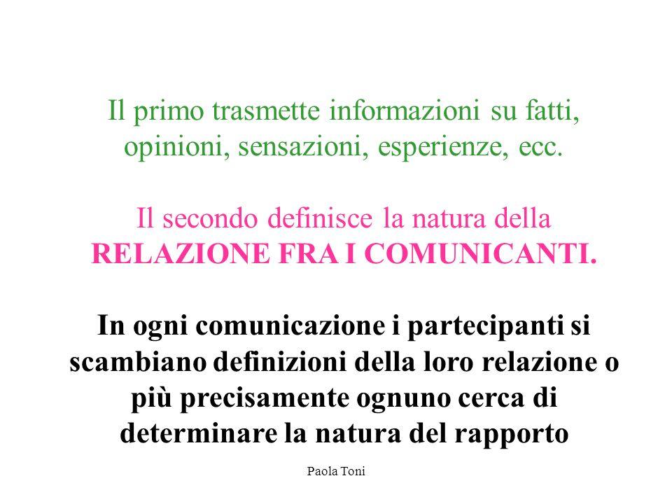 RELAZIONE FRA I COMUNICANTI.