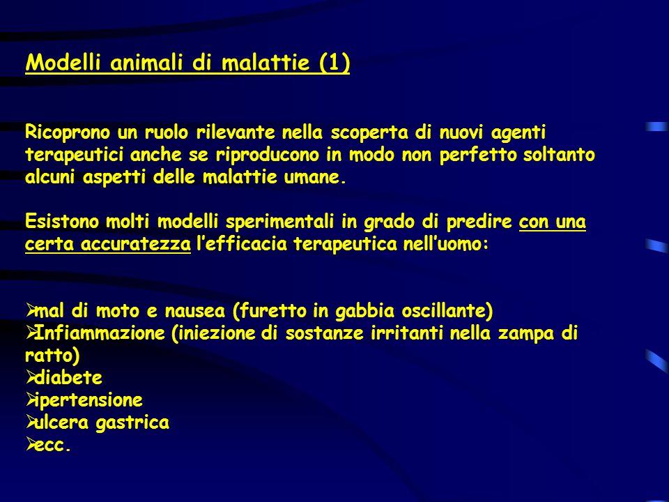 Modelli animali di malattie (1)