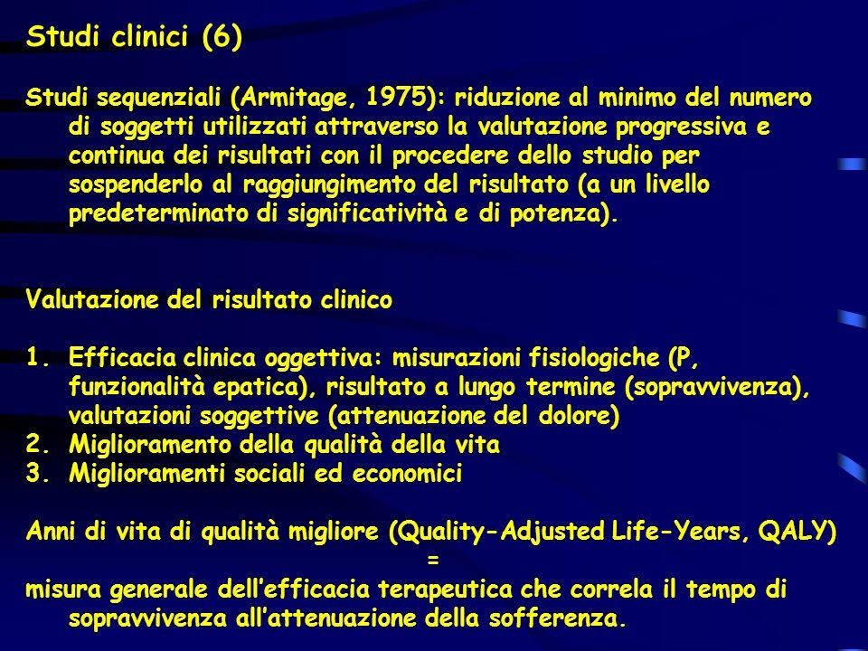 Studi clinici (6)