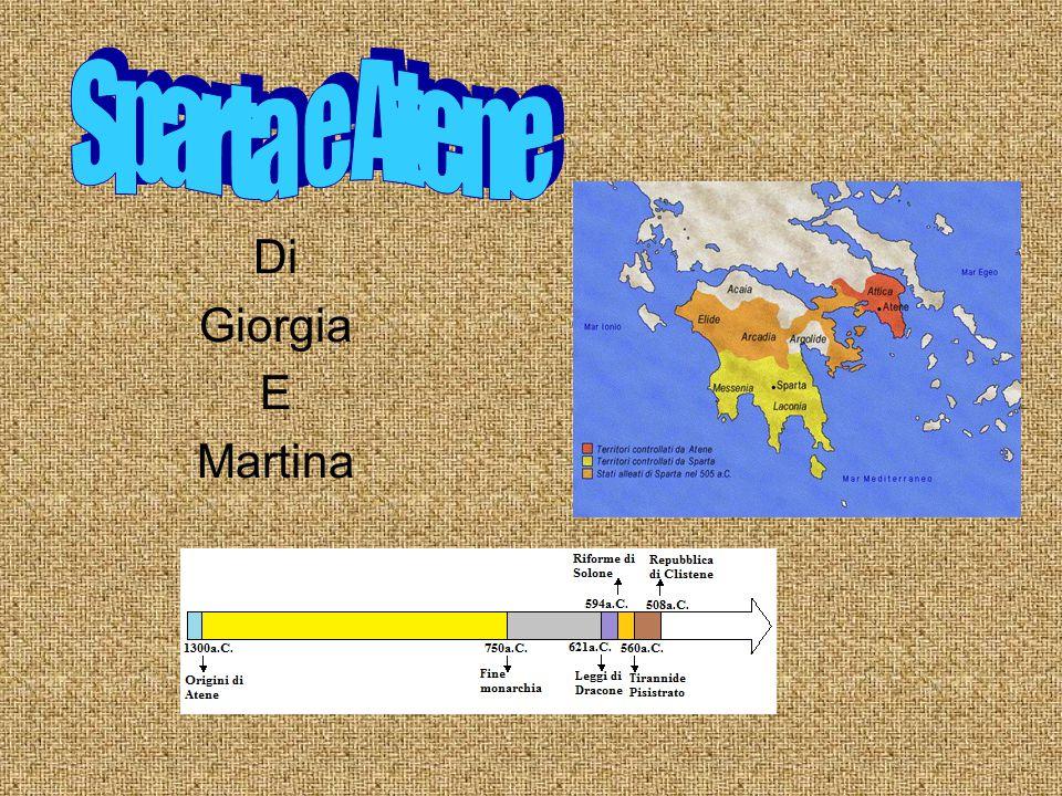 Sparta e Atene Di Giorgia E Martina
