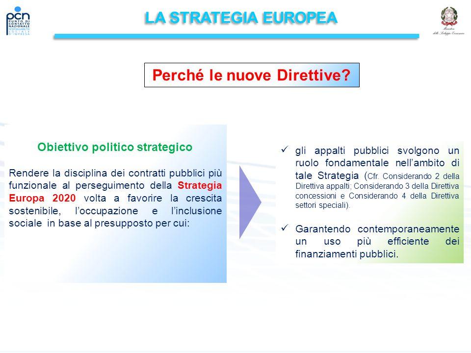Perché le nuove Direttive Obiettivo politico strategico