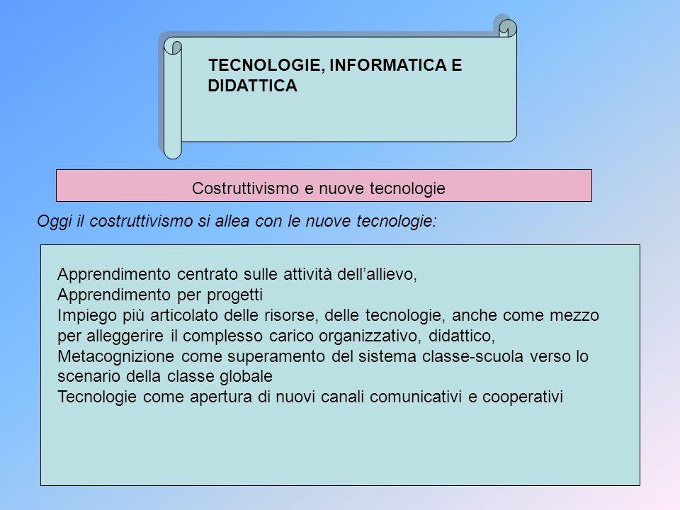 Costruttivismo e nuove tecnologie