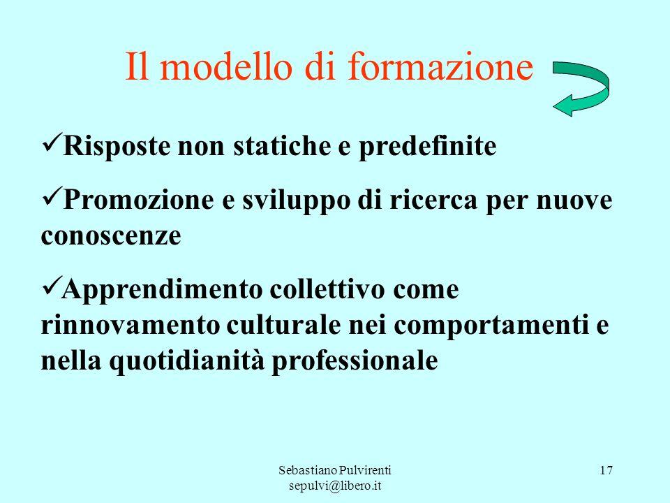 Il modello di formazione