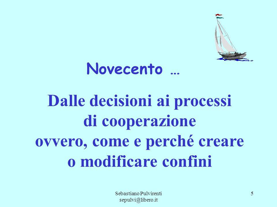 Dalle decisioni ai processi di cooperazione