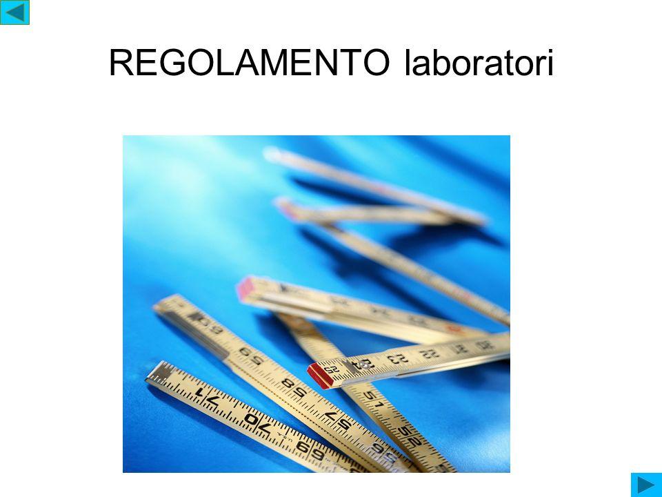 REGOLAMENTO laboratori