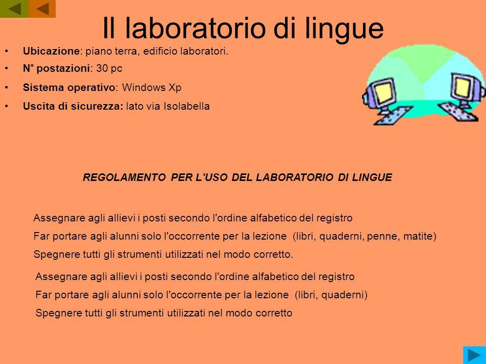 Il laboratorio di lingue