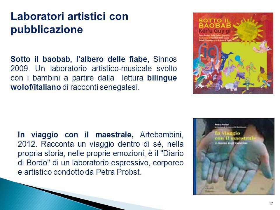 Laboratori artistici con pubblicazione
