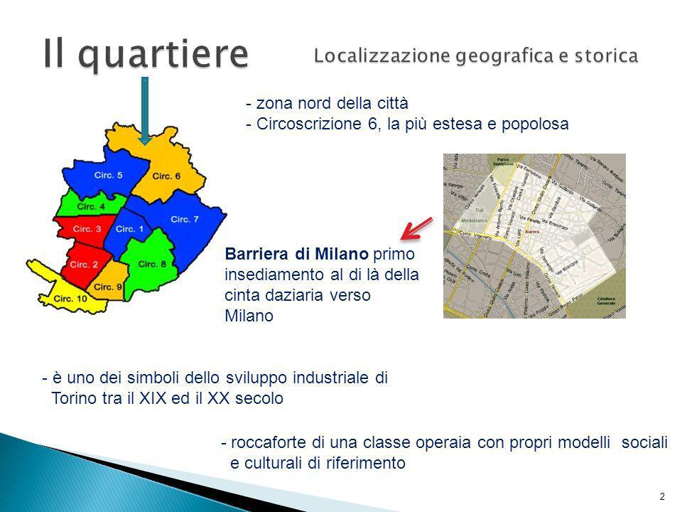 Localizzazione geografica e storica