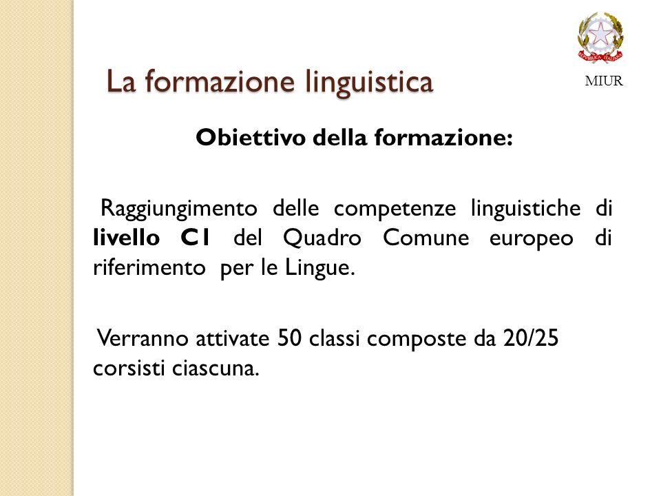 La formazione linguistica