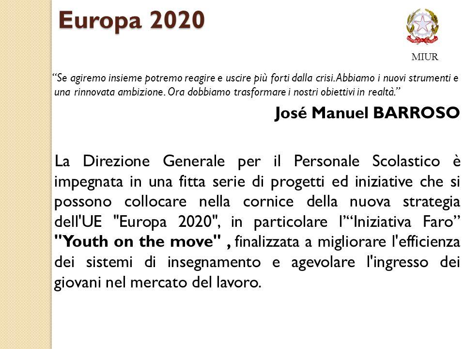 Europa 2020 José Manuel BARROSO