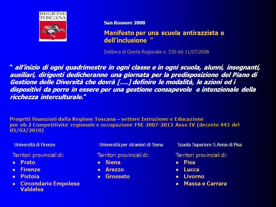 Manifesto per una scuola antirazzista e dell'inclusione