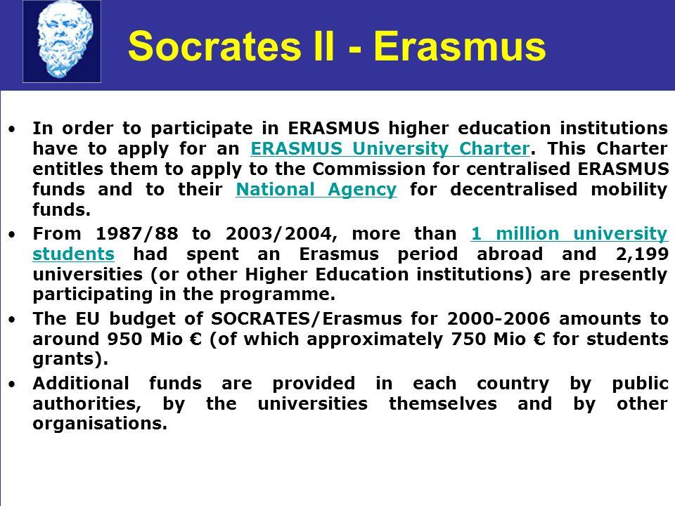 Socrates II - Erasmus