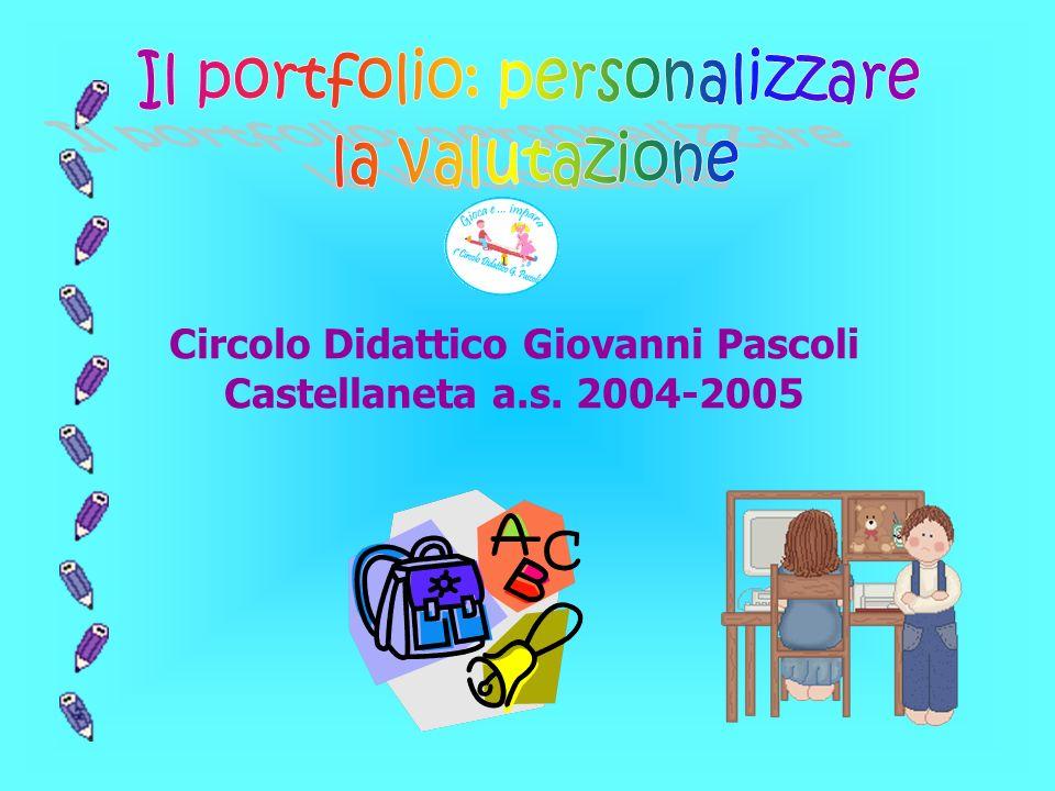 Circolo Didattico Giovanni Pascoli Castellaneta a.s. 2004-2005