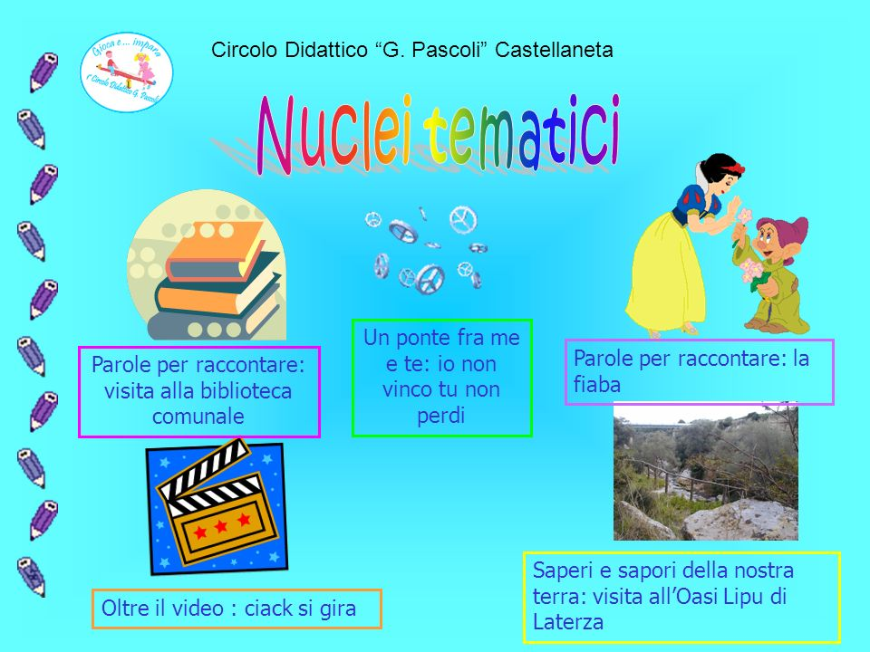 Nuclei tematici Circolo Didattico G. Pascoli Castellaneta