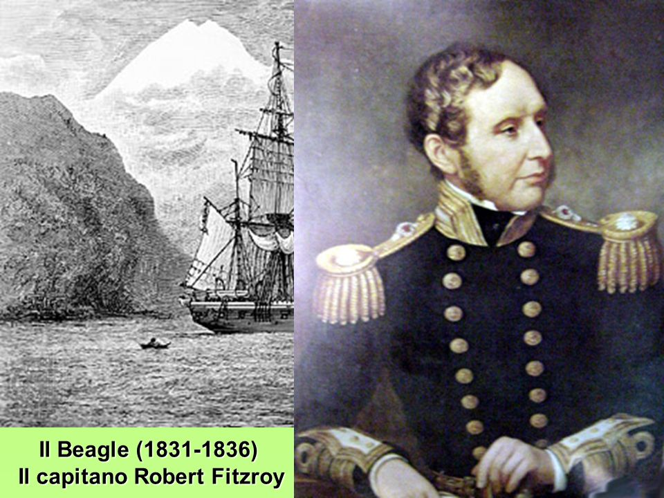 Il capitano Robert Fitzroy