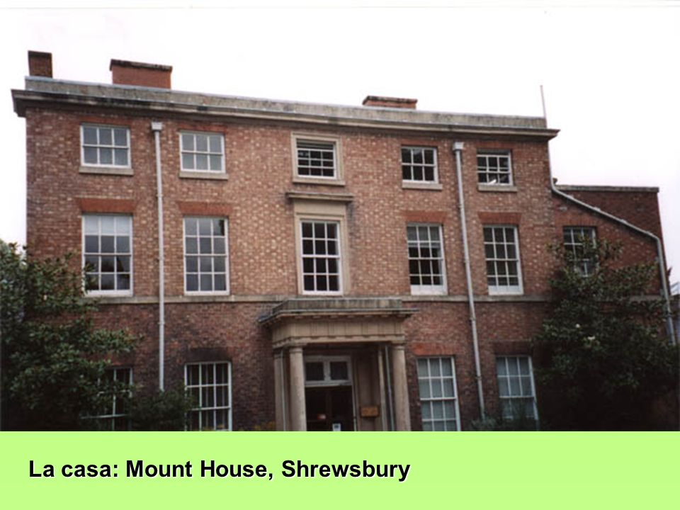 La casa: Mount House, Shrewsbury
