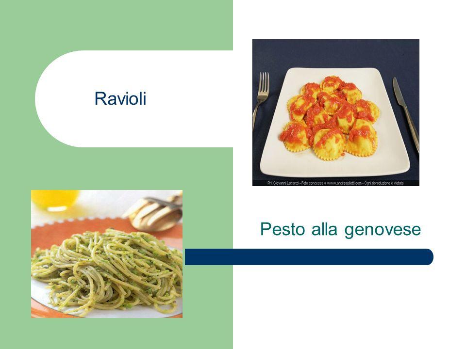 Ravioli Pesto alla genovese
