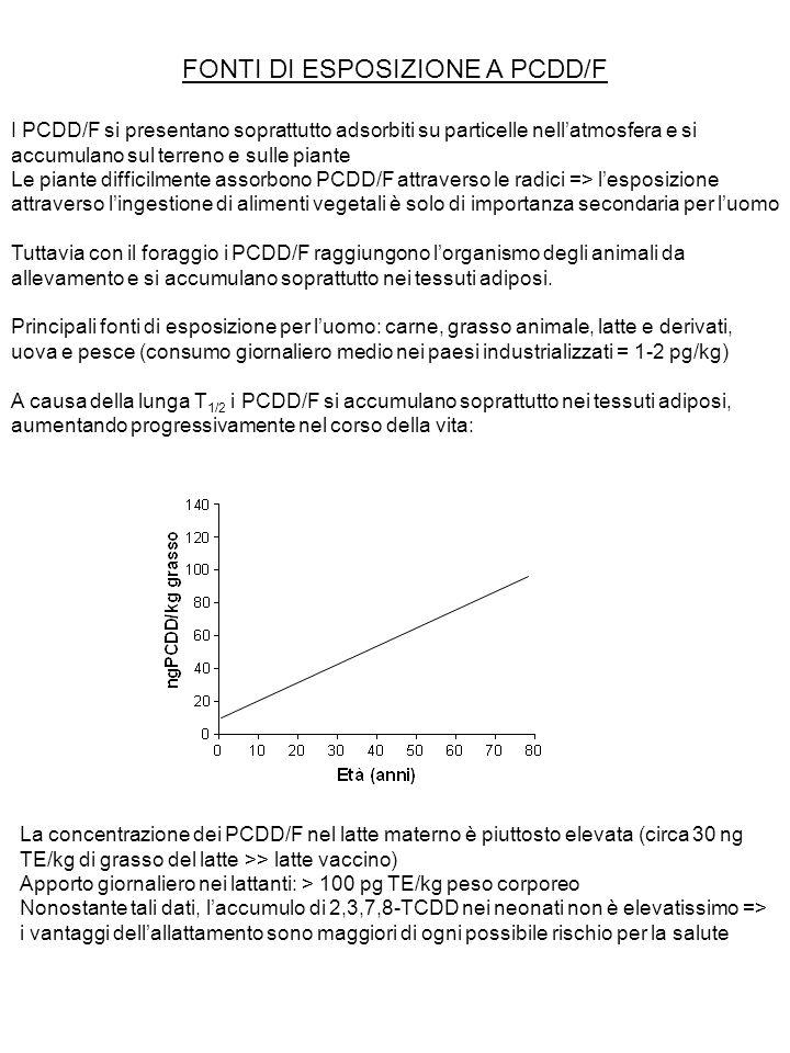 FONTI DI ESPOSIZIONE A PCDD/F