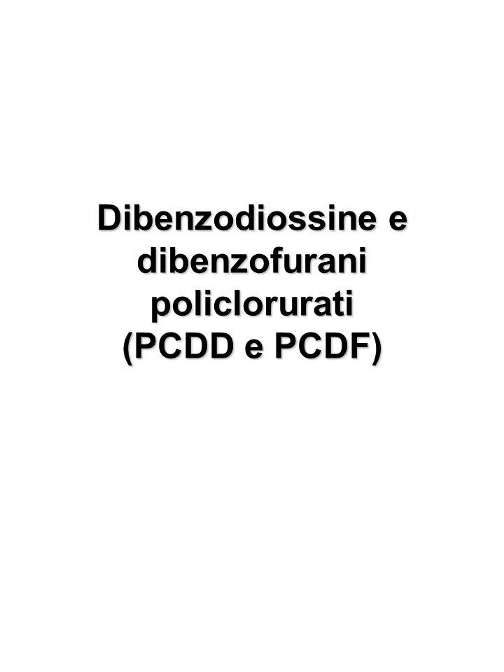 Dibenzodiossine e dibenzofurani policlorurati (PCDD e PCDF)