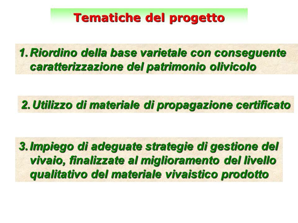 Tematiche del progetto