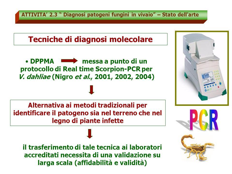 Tecniche di diagnosi molecolare