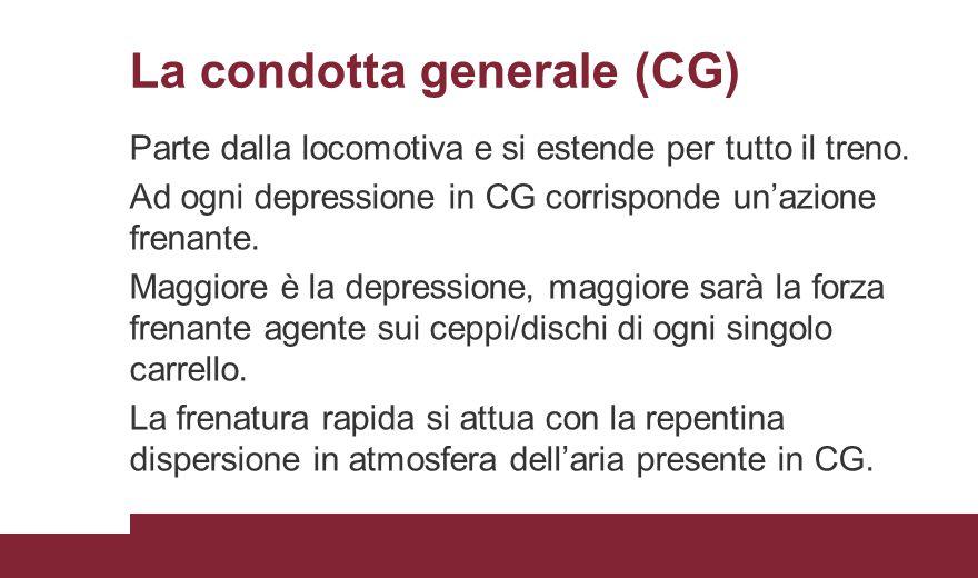 La condotta generale (CG)