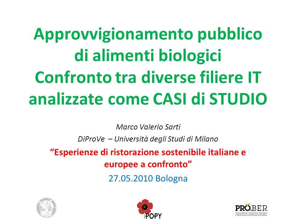 DiProVe – Università degli Studi di Milano