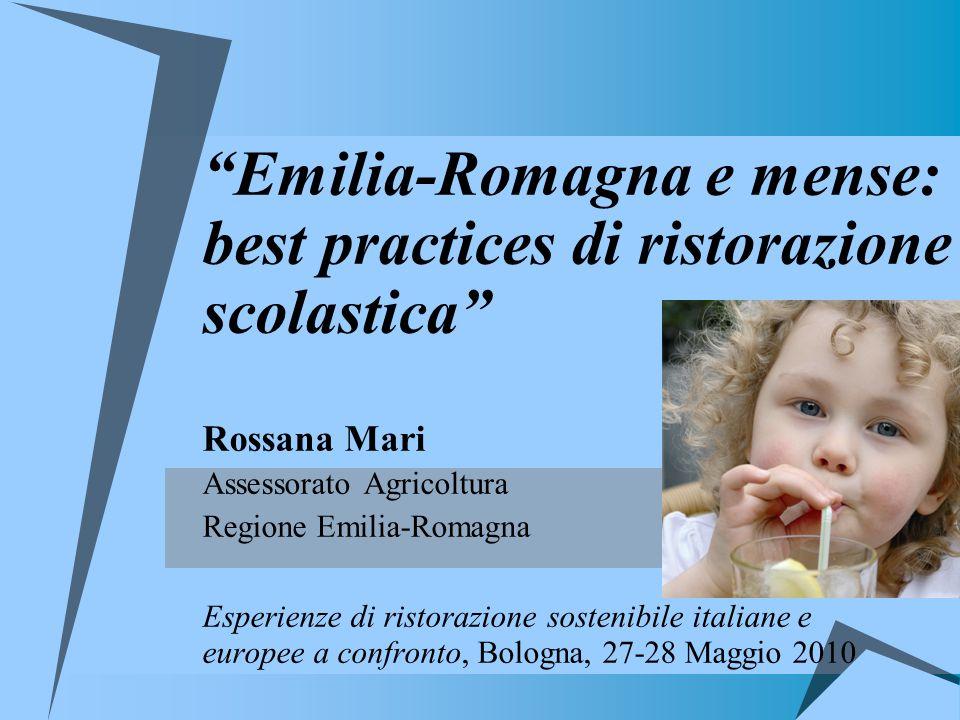 Emilia-Romagna e mense: best practices di ristorazione scolastica