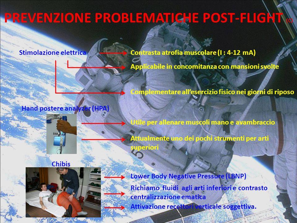 PREVENZIONE PROBLEMATICHE POST-FLIGHT (C)