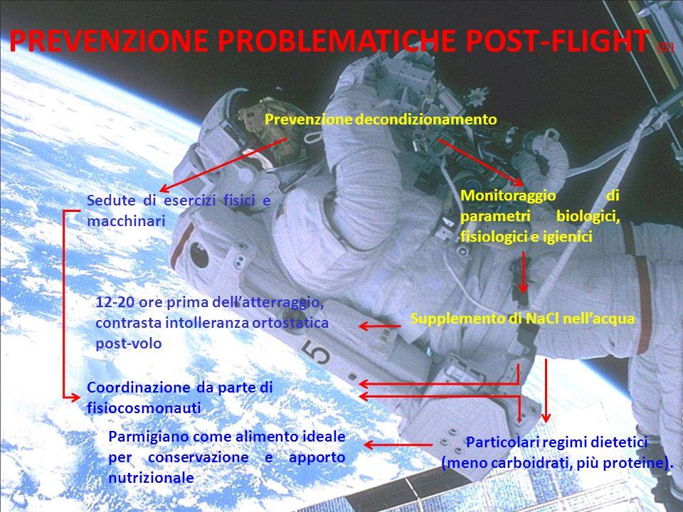 PREVENZIONE PROBLEMATICHE POST-FLIGHT (D)