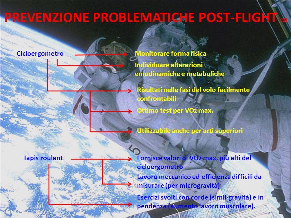 PREVENZIONE PROBLEMATICHE POST-FLIGHT (B)